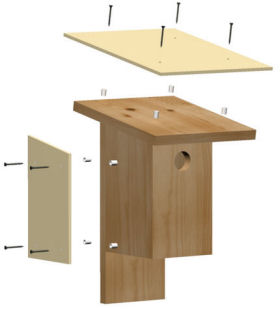Nestbox Heat Shields
